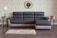 Ritz Leather Corner Sofa 1