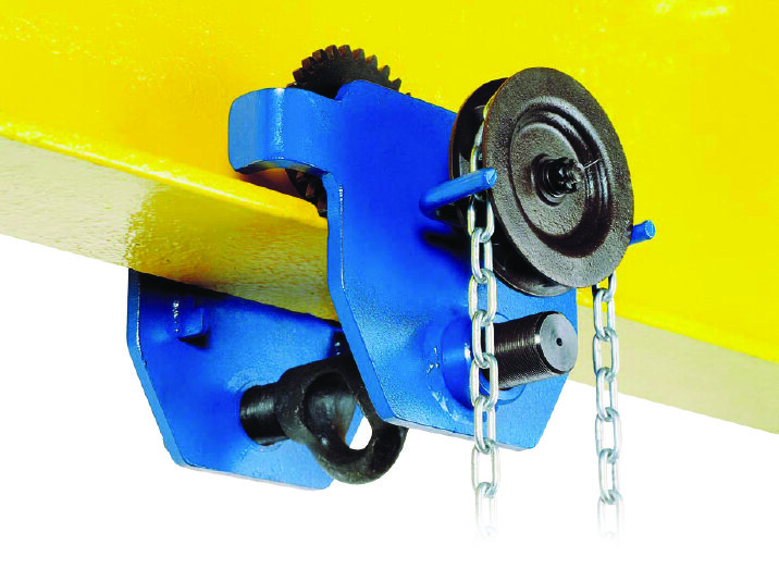 Tractel Corso Geared Trolley for Man-Riding Application Including Brake