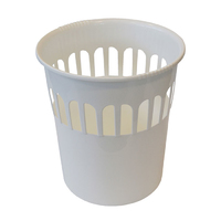 Casa 16L Waste Paper Basket White