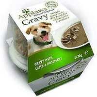 Applaws Dog Pots Gravy Lamb & Rosemary 70g 2pk x 6