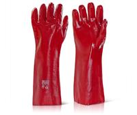 "PVC Openwrist Glove 18"" (45cm) (Pair)"