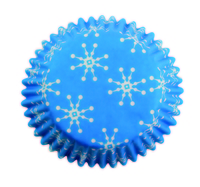 BC752 Snowflakes std baking cases 60pk
