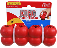 Kong Red Goodie Ribbon - Small x 1