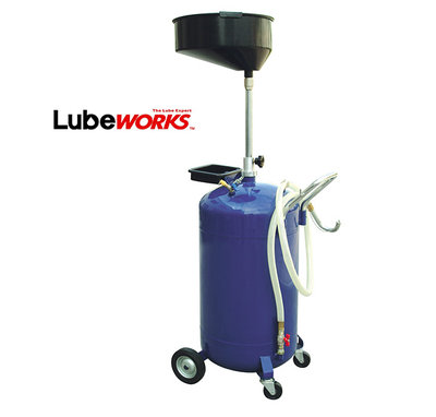 Lubeworks Oil Extractor Blue 90ltr Basin Only AOD3090