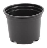 Aeroplas Pot Thermoformed 9cm Low - Black [ Bulk ]