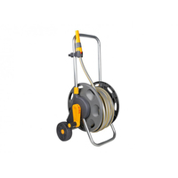 Hozelock Hose Reel Cart, 60m Capacity with Hose & Nozzle 30m