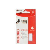 VELCRO TAPE WHITE 20 MM X 50 CM