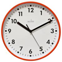 ACCTIM WALL CLOCK WICKFORD RED