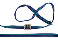 Gencon Navy/Jade All-in-One Clip-to-Collar Head Collar x 1