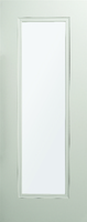 DEANTA HP37 FROSTED GLASS WHITE PRIMED DOOR 1981MM X 711MM X 45MM