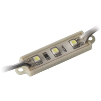 MD-320 | LED MODULE 3528 PURE WHITE 3 LEDS IP65 60-70LM PACK OF 200PCS