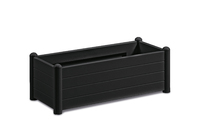 Italia Rectangular Flower Box col. Anthracite