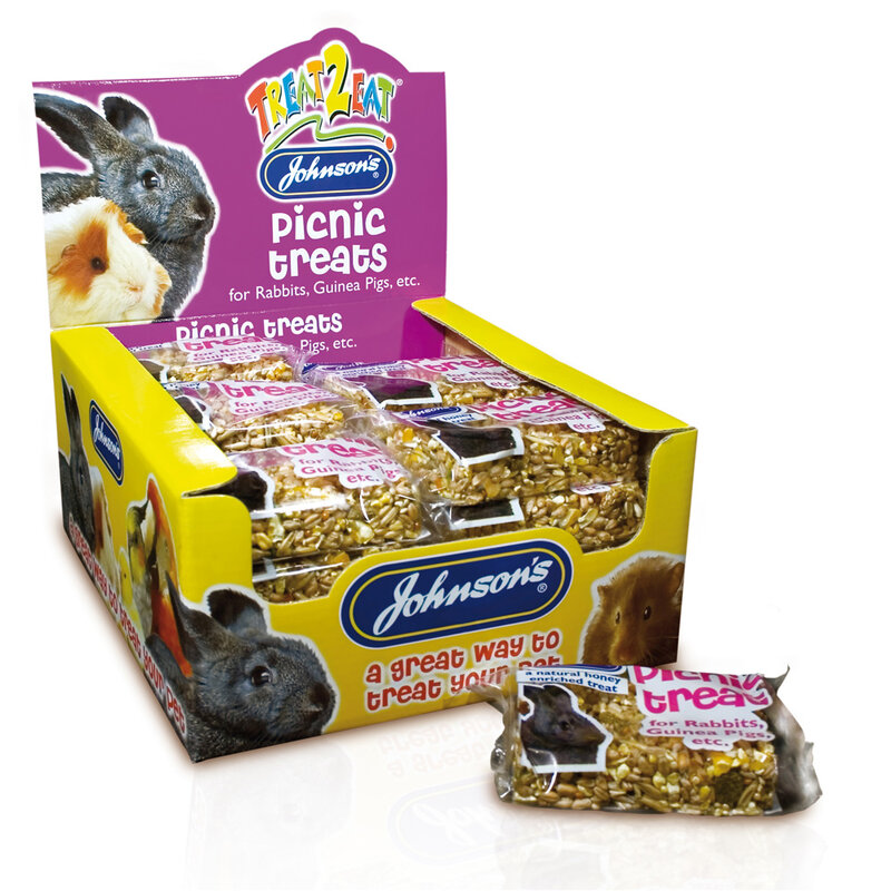JVP Rabbit & Guinea Picnic Treats x 24