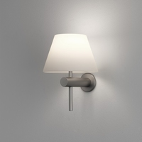 ROMA WALL LIGHT MATT NICKEL IP44
