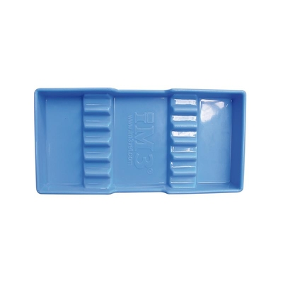 Blue Instrument Tray 9.5 x 19.5cm iM3