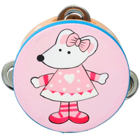pink mouse tambourine