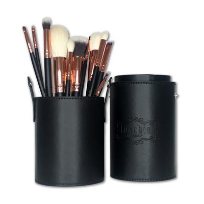 Exclusive 11 Piece Rose Gold Tube Brush Set