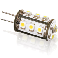 1W 10-30V G4 LED OMNIDIRECTIONAL WW