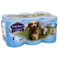 Butchers Cans Puppy Variety 400g 6-pk x 4