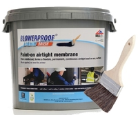 Airtight Blowerproof Liquid Brush Paint 5Kg