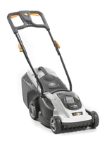 Alpina battery powered lawnmowers