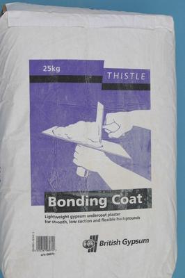 Gyproc Thistle Bonding Coat Plaster 25kg