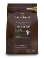 Callebaut Brazilian Single Origin Chocolate - 2.5kg, buy from Homebaking.ie in Dublin