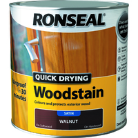 Quick Drying Woodstain 2.5L Walnut