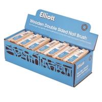 Wooden Nail Brush 5166R (WT687)