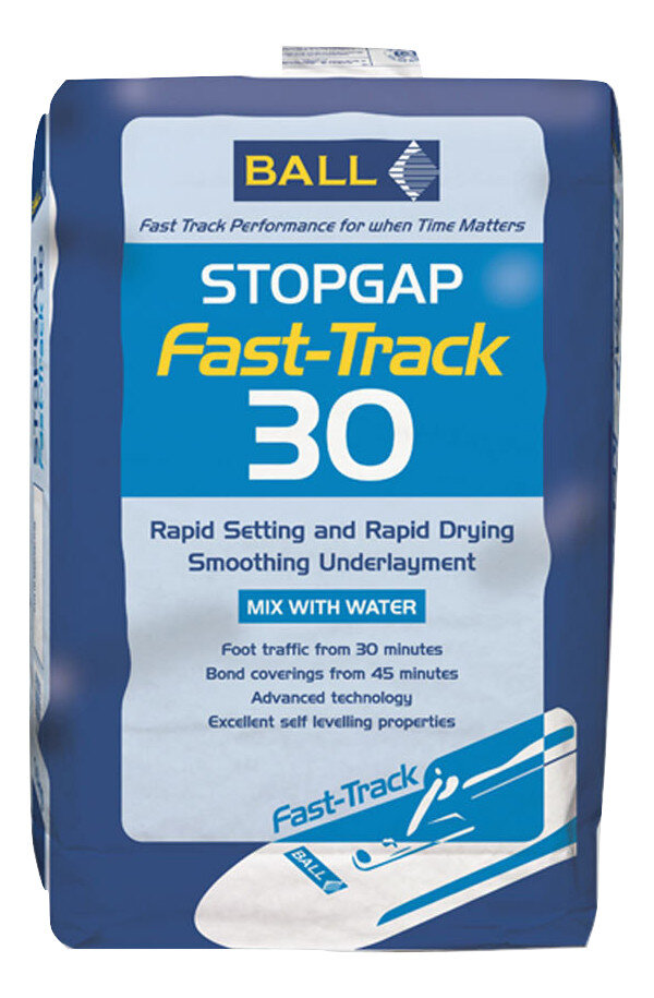 Stopgap Fast Track 30 Rapid Set, Rapid Dry Smoothing Compound 16kg