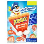 Jubbly Ice Lollies Strawberry  62ml 8pk x6