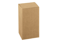 BOX 100X100X100MM  NAT. CORREGATED