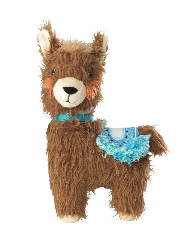 House of Paws Plush Llama Dog Toy