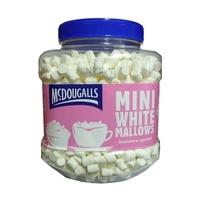 MC DOUGALLS WHITE MINI MALLOWS 450grm