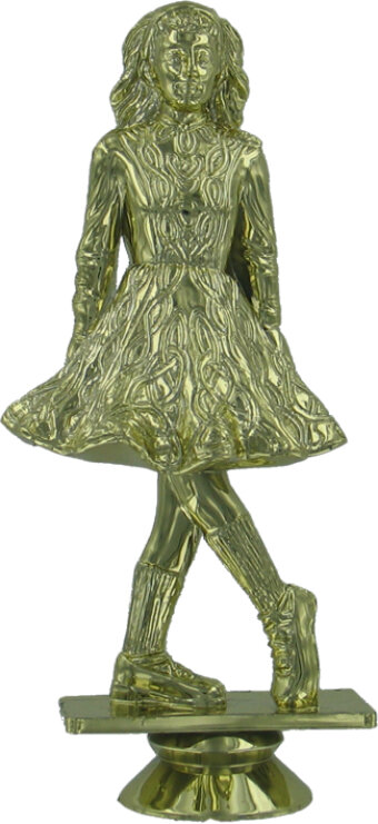 Irish Dancer 125mm Plastic Figure
