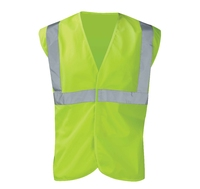 Hi-Visibility Vest 1 Band 2 Brace Yellow