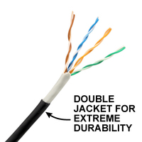250mtr Outdoor CAT5e Cable - Double Jacket