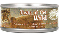 TOW Cat Cans - Canyon River Formula in Gravy 85g x