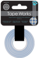 Tape Glitter Silver with Blue Diamonds (Priced in singles, order in multiples of 4)