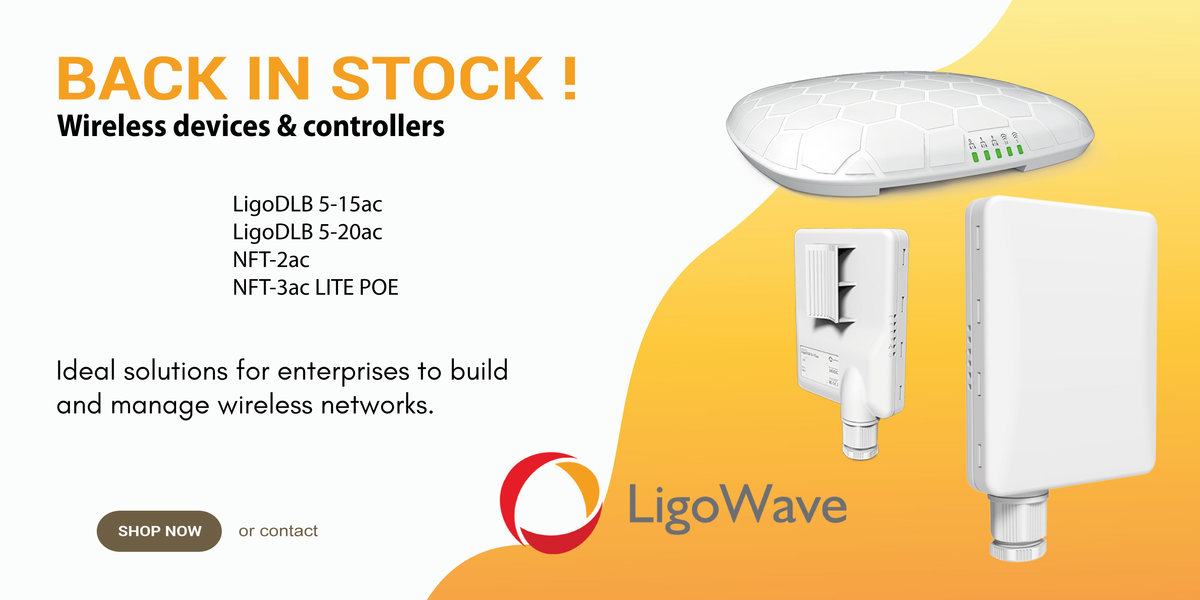 LigoWave Back in stock