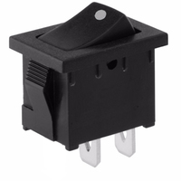 Switch | Rocker Switch Mini 2pins On-Off Momentary 6A 125V