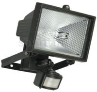500 WATT T/H FTG PIR&LAMP BLACK
