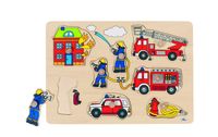 Fire Engine Lift Out Puzzle(P/Sng Min 1)