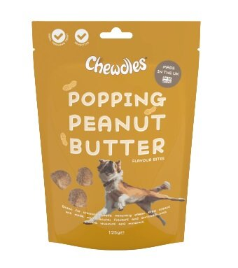 Chewdles Popping Peanut Butter 125g x 5