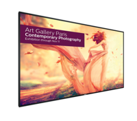 "Philips Ultra-large 98"" Signage Solutions U-Line Display"
