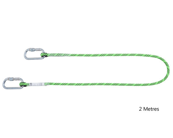 MILLER Kernmantel Rope Restraint Lanyard 2m