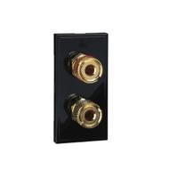 Ultimate Euro Mod Black Speaker Insert