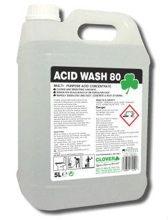 Acid Wash 80 Toilet Descaler 5Ltr