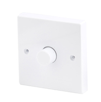 Robus 400W 1 Gang 2 Way Dimmer White