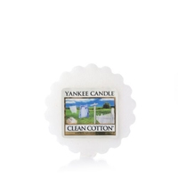Yankee Classic Wax Melt Clean Cotton